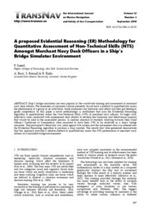 A proposed Evidential Reasoning (ER) Methodology for Quantitative